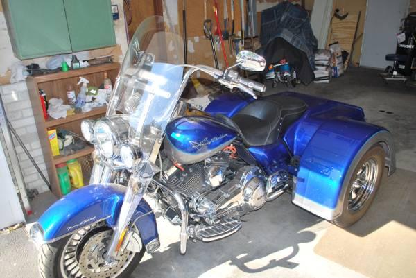 Photo 2009 Harley Roadking Trike - $18,500 (Bozeman)