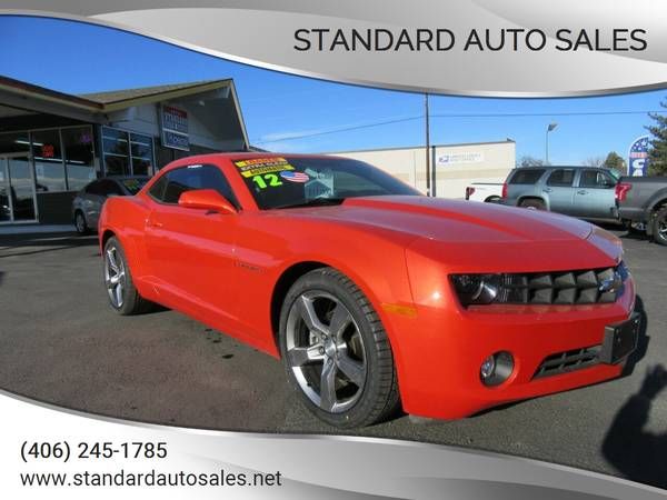 Photo 2012 Chevy Camaro LT2 RS Loaded Only 26K Miles - $16500 (STANDARDAUTOSALES.NET)