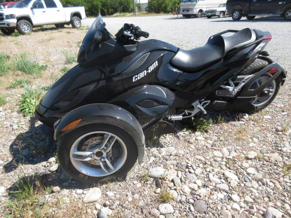 Photo 2012 SALE Can AM SPYDER RS only 3317 Miles - $9,995 (Townsend)