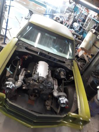 Photo 70 chevelle drag car twin turbo ls - $13,500 (Belgrade)