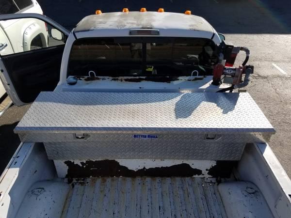 Photo 95-gallon diesel fuel truck box tank and toolbox combo - $850 (Big Sky)