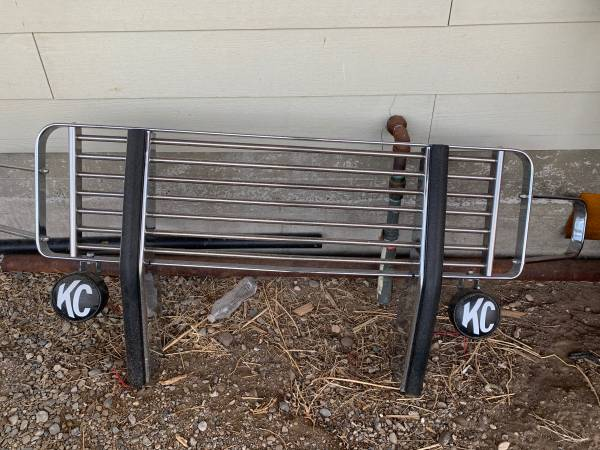 Photo Brush guard for second gen Ram - $150