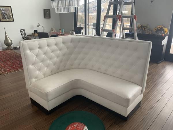 Photo Custom-Made Corner Sectional Seating Area-- $2500 new - $300 (Bozeman)