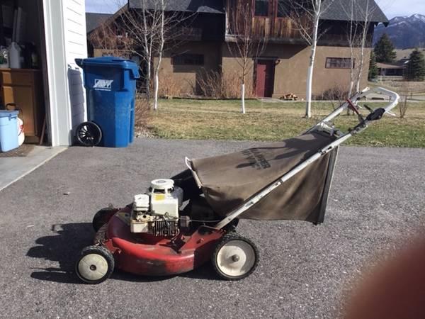 Photo Lawn Mower Snapper 21quot - $120 (Bozeman near M)