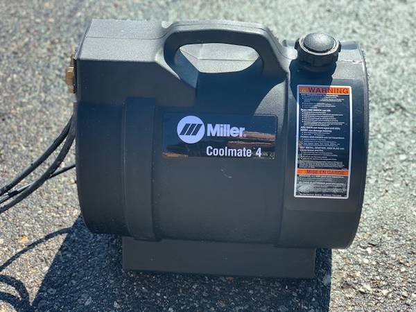 Photo NEW Miller Coolmate 4 Welding Cooler - $875 (McAllister)