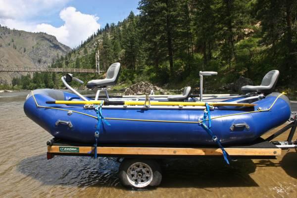 Photo New 2019 Aire Tributary 14HD Raft NRS Fishing Frame - $4649 - $4649 (Missoula)