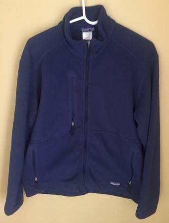 Photo Patagonia Fleece Jacket Navy - $40 (Bozeman)