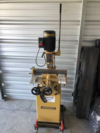 Powermatic Hollow Chisel Mortiser with Stand and Bits ...