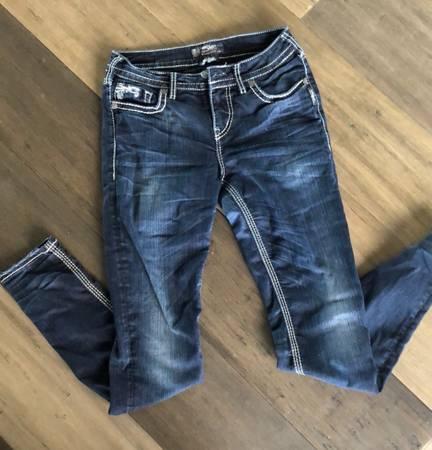 Photo Silver Jeans Suki Flap skinny - $25 (Bozeman)
