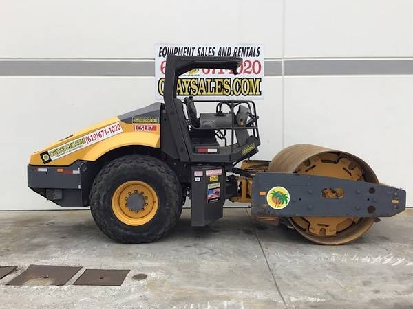 Photo VOLVO SD115 SMOOTH DRUM ROLLER FOR SALE - WARRANTY INCLUDED - $36,995 (San Diego)