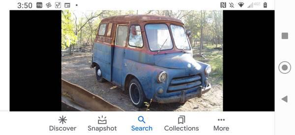 Photo WTB vintage Dodge mail van - $1,234 (Bozeman)