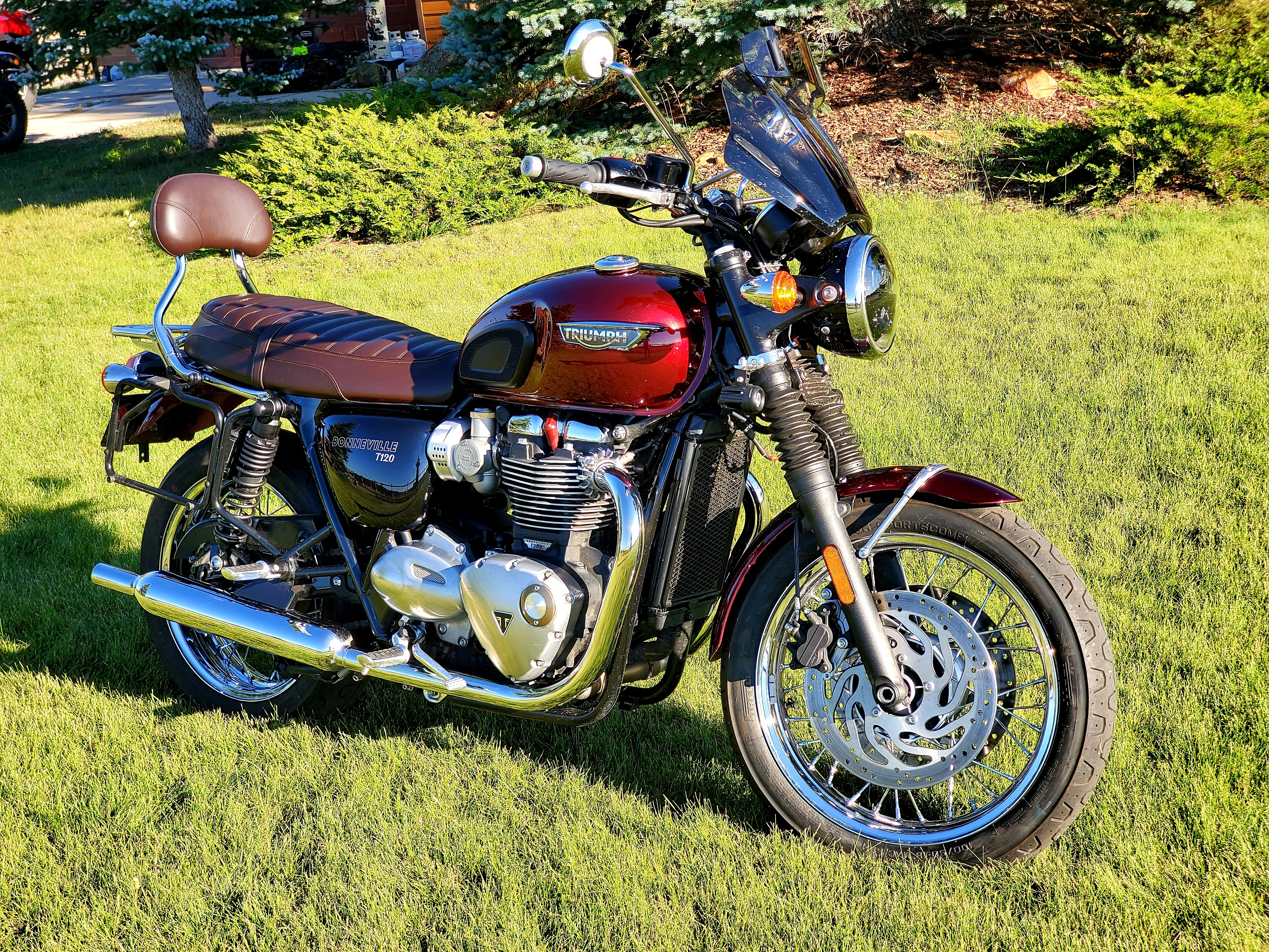 Photo Used 2017 Triumph Sport Touring Motorcycle  $11250