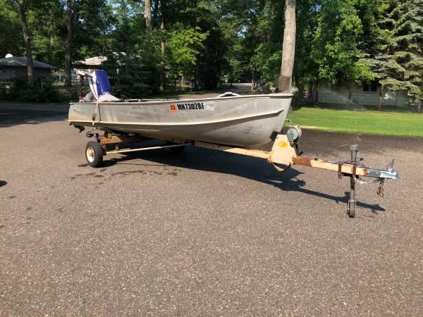 Photo 14 Crestliner Boat, Engine, and Trailer - $900 (Baxter)