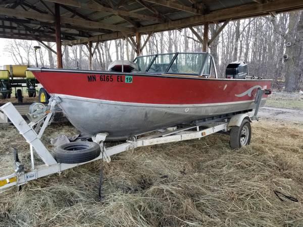 Photo 18 Ft Lund Boat - $7,400 (Hewitt)