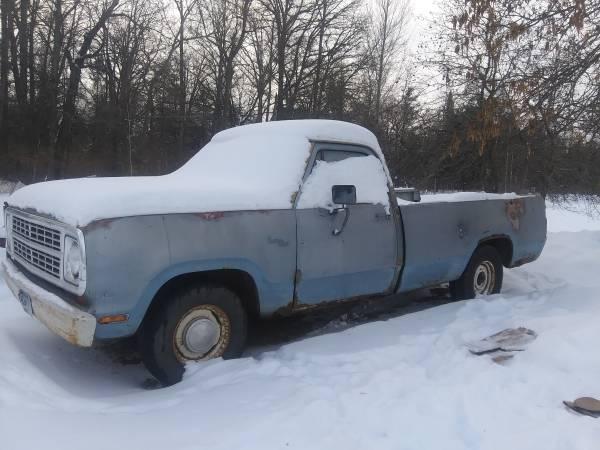 Photo 1979 dodge 2x2 truck - $700 (Palisade)