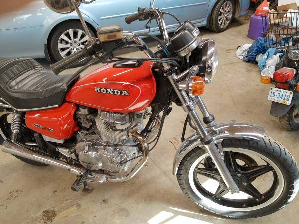 Photo 1981 Honda cm400t mint condition low miles $1800 - $1,800 (East Gull Lake)