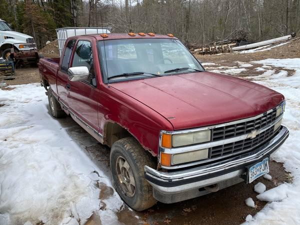 Photo 1990 Chevy 12 Ton Pickup 4X4 - $1,200 (Hillman)