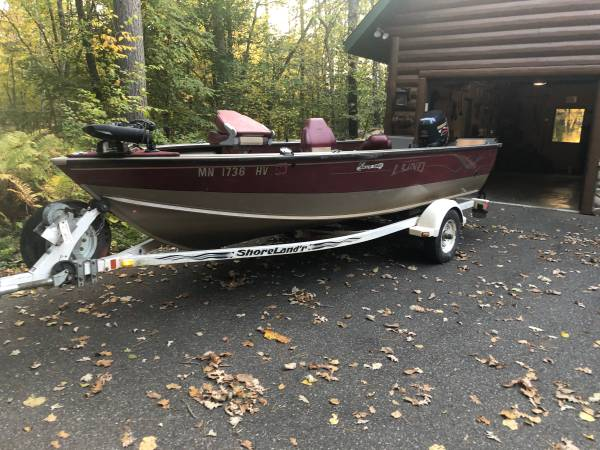 Photo 2000 Lund Angler 165 - $6,000 (Pillager, MN)