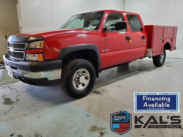 Photo 2006 Chevrolet Silverado 3500 4WD Crew Cab 167 - $13,990 (Wadena)