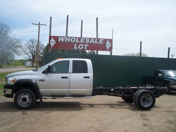 Photo 2008 DODGE RAM 5500 SLT 4DR 4WD CUMMINS TURBO DIESEL - $17500 (LITTLE FALLS)
