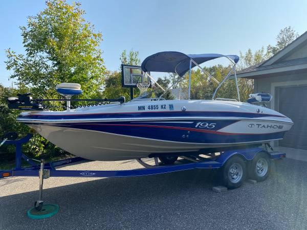 Photo 2013 Tahoe 195 Deck Boat - $24,000 (Nisswa)