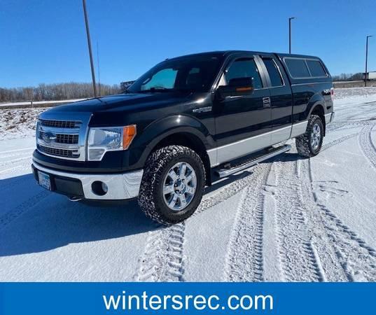 Photo 2014 Ford F-150 XLT Super Cab Black, Truck - $19,995 (Sauk Centre)