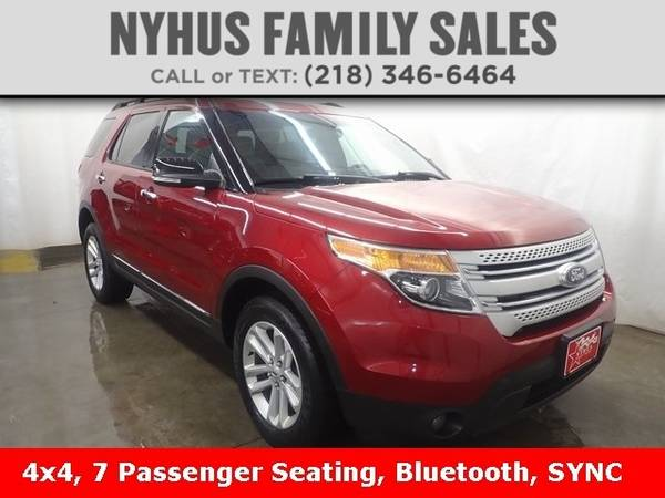 Photo 2015 Ford Explorer XLT - $20,000 (Delivery Available)