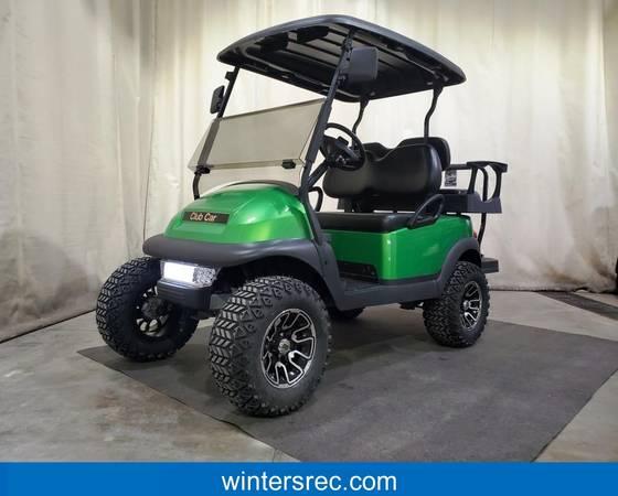 Photo 2018 Club Car Precedent Electric DELUXE STREET READY Golf Cart Green - $6295 (Sauk Centre)