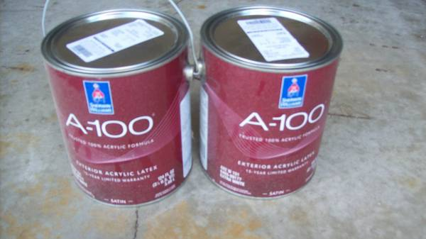 Photo 2 GAL. SHERWIN WILLIAMS EXT. HOUSE PAINT - $30 (green gables rd)