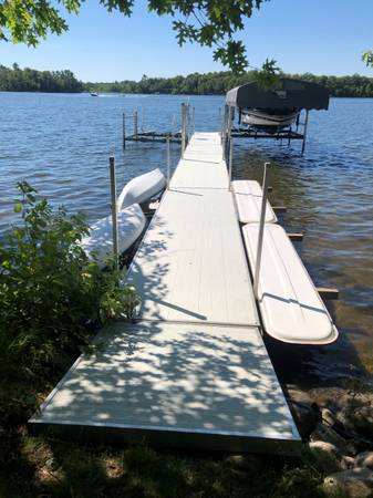Photo 5639 Aluminum Porta-Dock - $4,500 (Fifty Lakes)