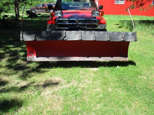 Photo 8ft Boss Snow Plow - $600 (Brainerd)