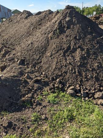Photo Black Dirt topsoil - $1 (Pierz, MN)