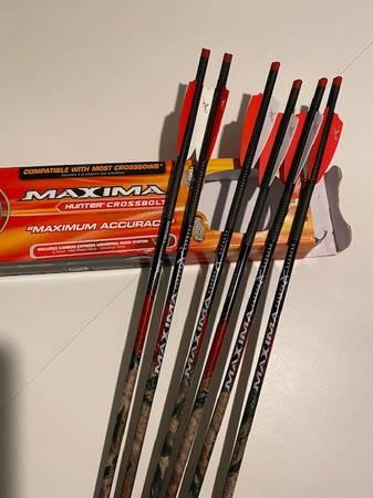 Photo CROSSBOW BOLTS (Arrows) 20 INCH Length - $35 (Brainerd)