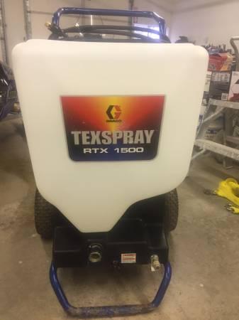Photo Drywall Texture Machine - $1,400 (Aitkin)