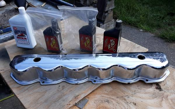 Photo Ford 300 straight 6 valve cover NEW - $30 (Merrifield)