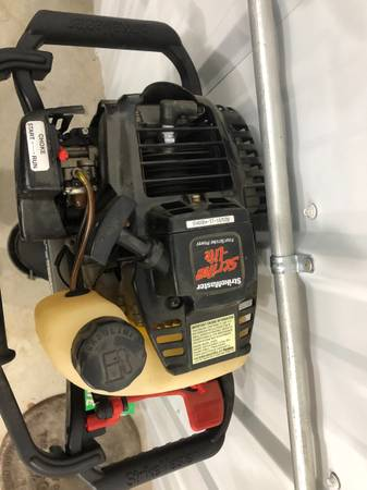 Photo Four stroke ice auger - $300 (Nevis)