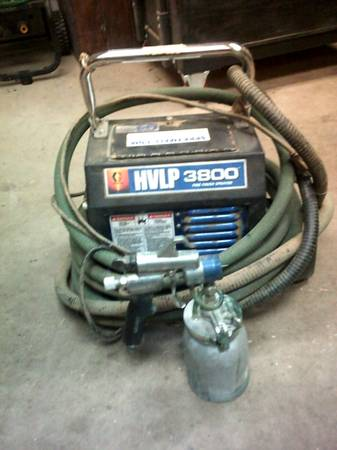 Photo HVLP 3800 Finsh paint sprayer - $150 (baxter)