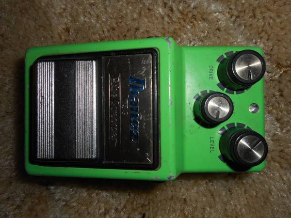 Photo Ibanez Vintage TS9 TubeScreamer FX Pedal - $300