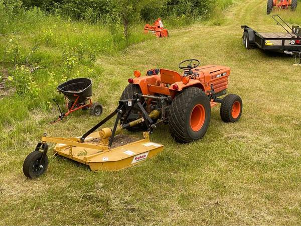 Photo Kubota Tractor and Tiller - $4,950 (Breezy Point)