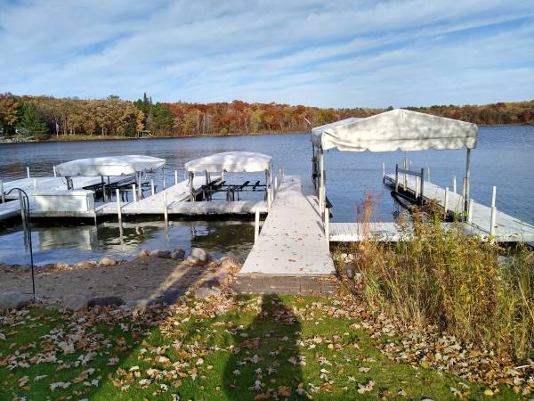Photo Large selection of new or used docks and lifts - $1500 (Pequot Lakes)