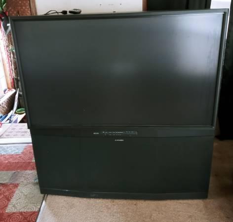 Photo Mitsubishi 55quot 1080p Rear Projection Big Screen TV - $200 (Brainerd)