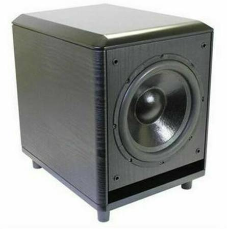 Photo Powered Subwoofer Speaker 10 inch 120wts New - $145 (Eagan, MN)