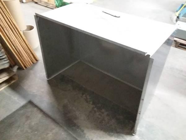 Photo Stainless Steel cover shroud drip shield pan - $150 (Navarre)