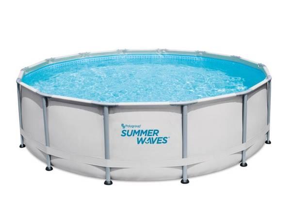 Photo Summer Waves 14-ft Elite Frame Swimming Pool - $700