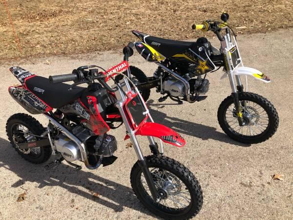 Photo Two x SSR 125 Pit Bikes - 2018 - $1,800