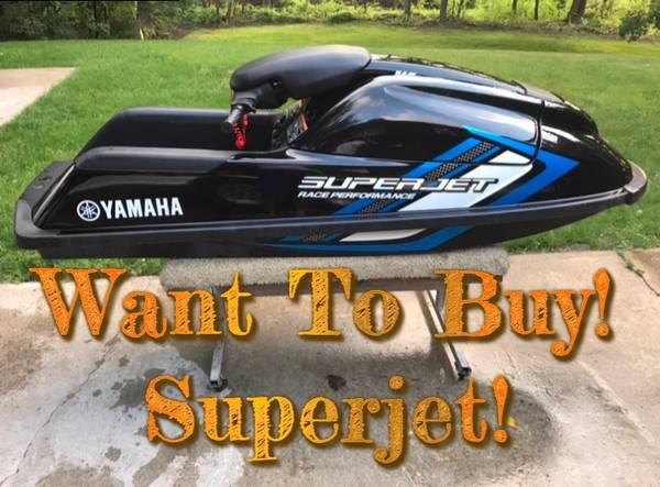 Photo YAMAHA SUPERJET WANTED - $701 (Stand Up Jet Ski)