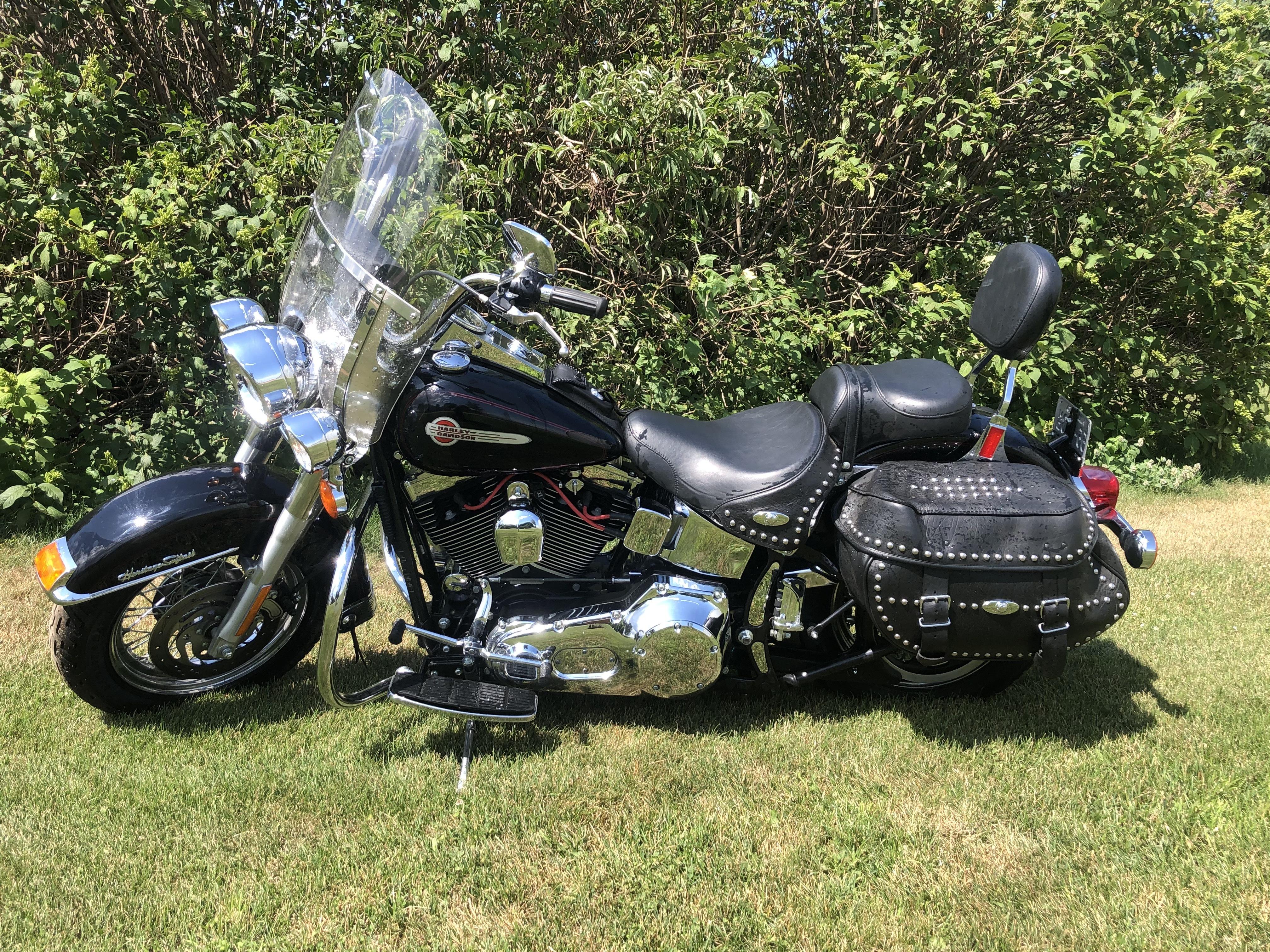 Photo 2002 Harley-Davidson HERITAGE SOFTAIL CLASSIC $6999177.07177.07