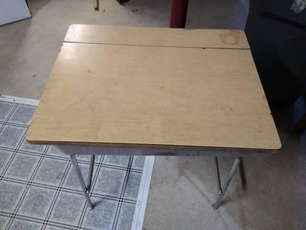 Photo old school desk O.B.O, - $20