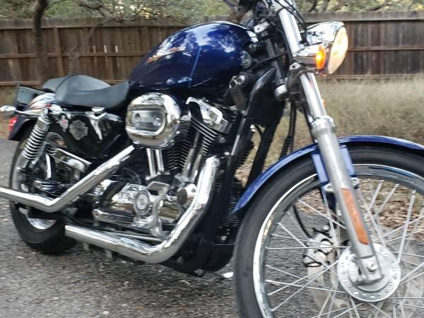 Photo 2006 Harley Davidson sportster 1200 custom 27k miles $4,500 - $4,500 (Boerne)