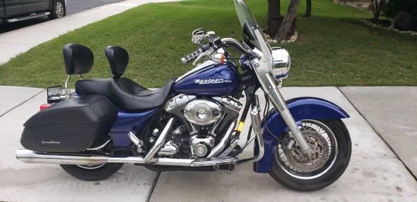 Photo 2007 Harley Davidson Road King Custom - $5,000 (Alamo Ranch)